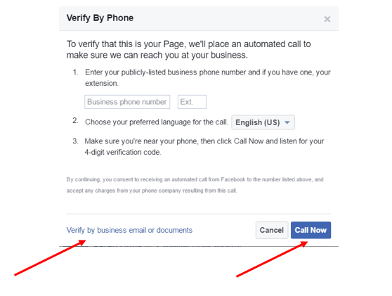 How to claim a facebook page